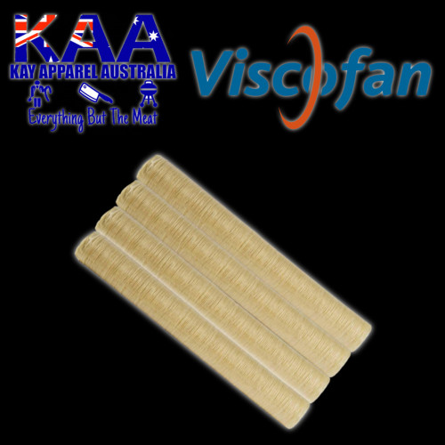 Viscofan Naturin 21mm collagen sausage casings pack of 4