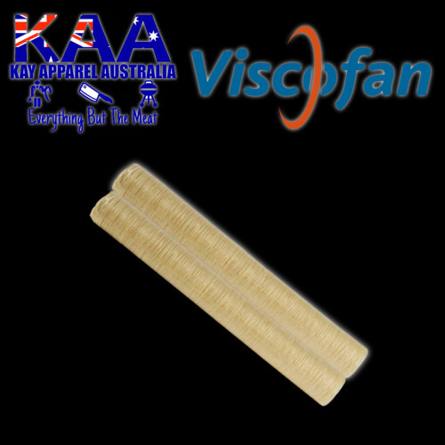 Viscofan Naturin 21mm collagen sausage casings pack of 2