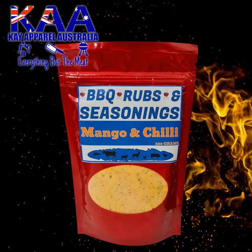 BBQ Rubs Mango & Chilli Glaze 200 Grams
