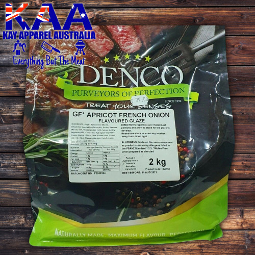 Denco Apricot French Onion Glaze 2kg