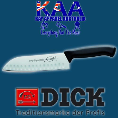 F.Dick 18cm Pro Dynamic Chef's Santoku Knife Fluted Blade 8 5442 18K
