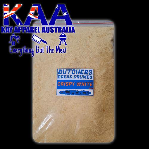 Butchers bread Crumbs white 2kg, Australian Made