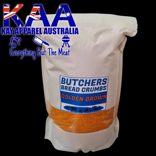 Golden Brown Butchers Bread Crumbs 2kg, Australian Made