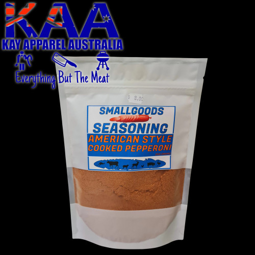 Pepperoni American Style Cooked Cured Sausage Premix, Meal, Seasoning 250 Grams