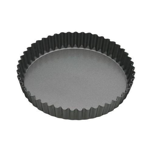 BAKEMASTER Non Stick Loose Base Round Quiche Pan 23X3.5CM