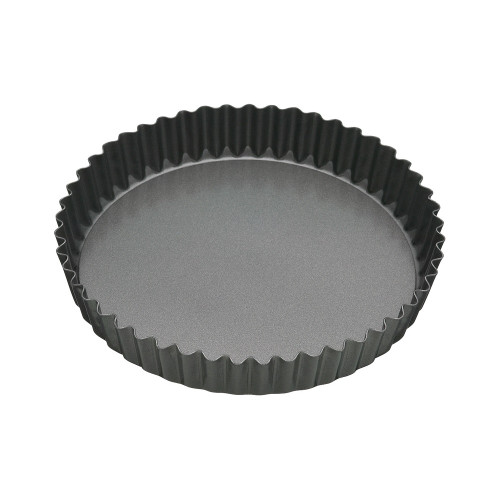 BAKEMASTER Non Stick Loose Base Round Quiche Pan 25X3.5CM