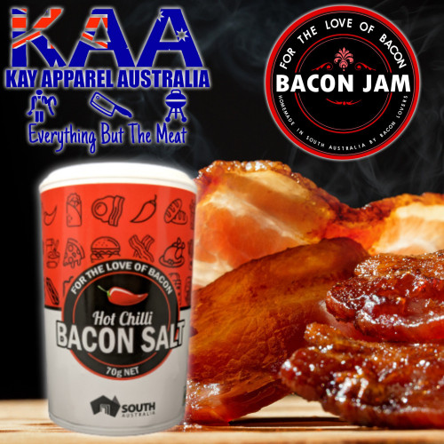 Bacon Chilli Salt 70g, For The Love Of Bacon
