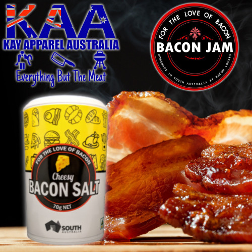 Bacon Cheesy Salt 70g, For The Love Of Bacon