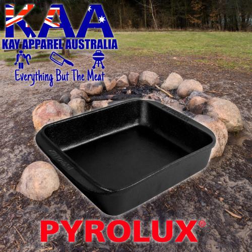 Pyrolux Pyrocast Cast Iron Square Roaster 30x30cm