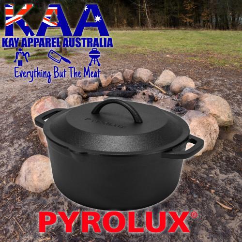 Pyrolux Pyrocast Cast Iron Casserole Dish 26CM / 4.7LT