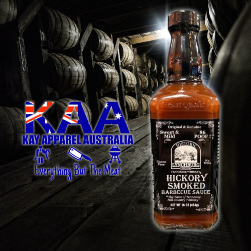 Historic Lynchburg Tennessee Whiskey Hickory Smoked Barbecue Sauce 454g