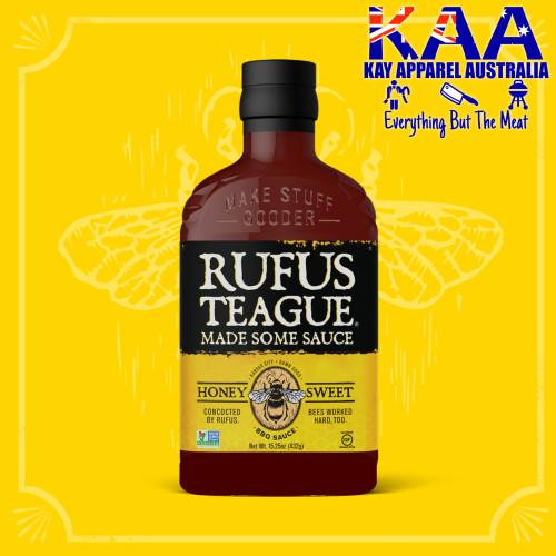 Rufus Teague Honey Sweet BBQ Sauce 432g