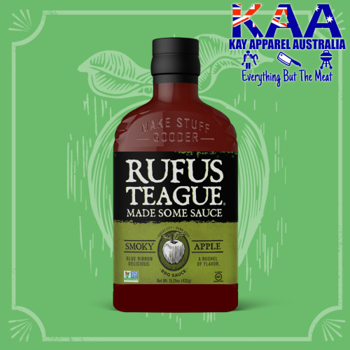 Rufus Teague Smokey Apple BBQ Sauce, A Bushel of Flavour 432g