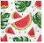 Paw Paper Lunch Napkin 33cm Pack of 20, 3 Ply, Tasty Watermelons