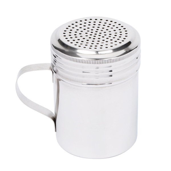 KH Salt Dredge Shaker With Handle Stainless Steel
