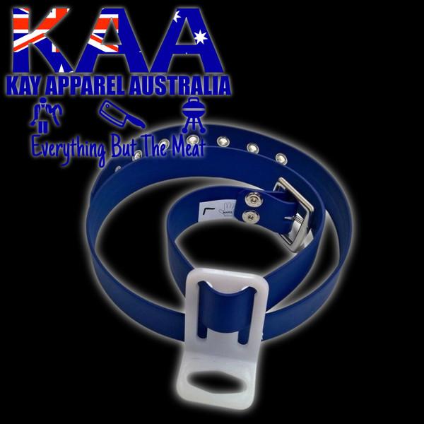 Butchers Knife Pouch Belt Blue, Sizes S,M,L,XL