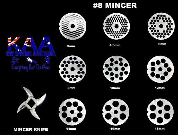 #8 Mincer Holeplate Or Mincer Knife