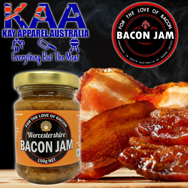 Bacon Jam Worcestershire Bacon 150g, For The Love Of Bacon