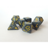 Speckled Urban Camo Polyhedral 7-Die Set