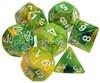 Polyhedral Dice Set Dandelion-White