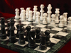 37mm Deluxe Marble Chess Chess set & Board