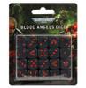 41-45 SM Blood Angels Dice Set
