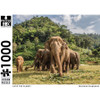 Puzzle Master 1000pc: Save the Planet - Thailand Elephants