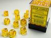 Chessex Translucent 12mm 36x D6 Dice Sets