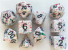 Coated Graffiti Multi 10pc Dice Set