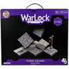 Warlock Tiles: Town Square (Town & Village)