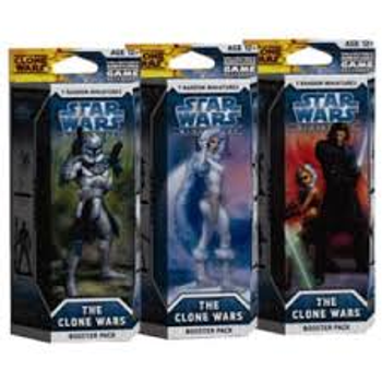 Star Wars The Clone Wars Booster Pack