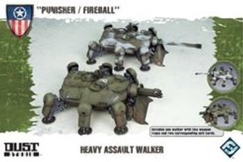 Heavy Assault Walker - Punisher / Fireball