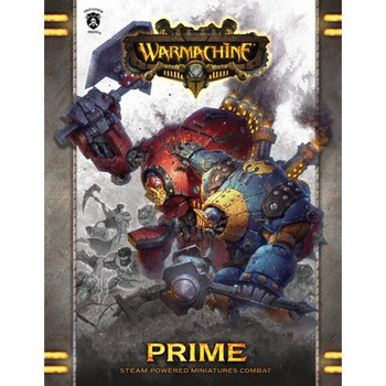 Warmachine Prime Rulebook - Hardcover