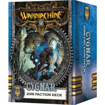 Warmachine - Cygnar Faction Card Deck - 2016