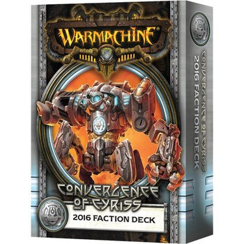 Warmachine - Convergence of Cyriss Faction Card Deck - 2016