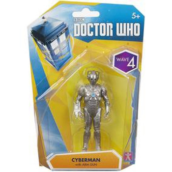 Doctor Who: Wave 4 Action Figures: Cyberman Mark 2 With Arm Gun
