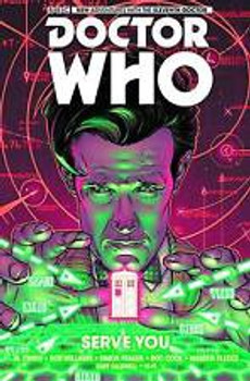DOCTOR WHO: ELEVENTH DOCTOR VOL #2 SERVE YOU HC