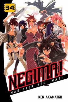 Negima!, Volume 34: Darkness Falls
