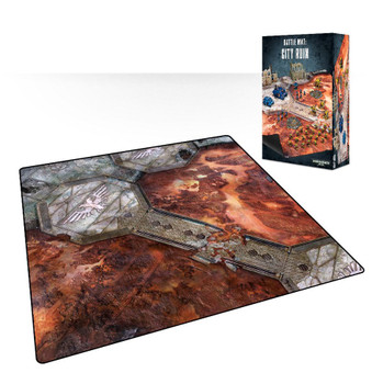 64-21 WH 40K Battle Mat: City Ruin