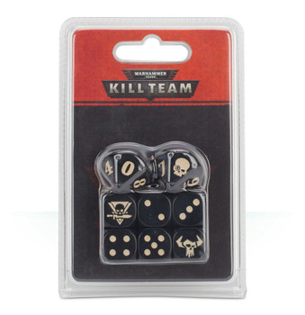 102-14 WH 40K Kill Team: Orks Dice Set