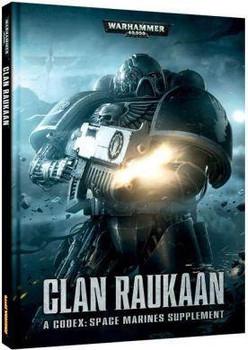 Wh 40K Clan Raukaan Codex Hard Cover
