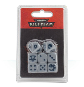 102-09 WH 40K Kill Team: Adeptus Mechanicus Dice Set