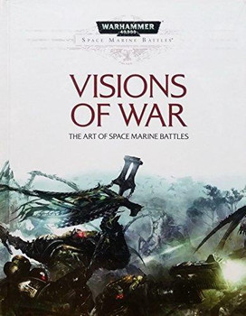 WH 40K SMB Visions of War Hard Cover