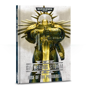 40-23-60 WH 40K Gathering Storm #3 Rise of the Primarch Hard Cover