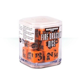 86-89 Eldar Fire Dragon Dice Cube