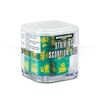 86-89 Eldar Stirking Scorpion Dice Cube