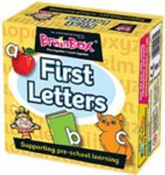 Brainbox: My First Letters Pre School