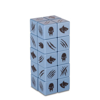 86-72 Space Wolves WH40K Dice