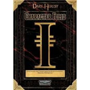 Dark Heresy Character Folio