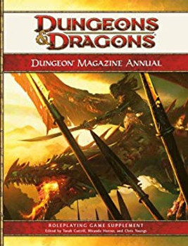 Dungeon Magazine Annual, Vol. 1: A 4th Edition D&D Compilation